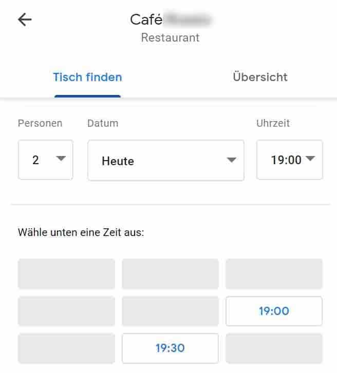 Lokale-Kundengewinnung für Restaurants mehr Gäste für Restaurants, Marketing Vertrieb Aquise  Google my Business Google Maps Google Places, Cafe restaurant Tisch reservieren buchen